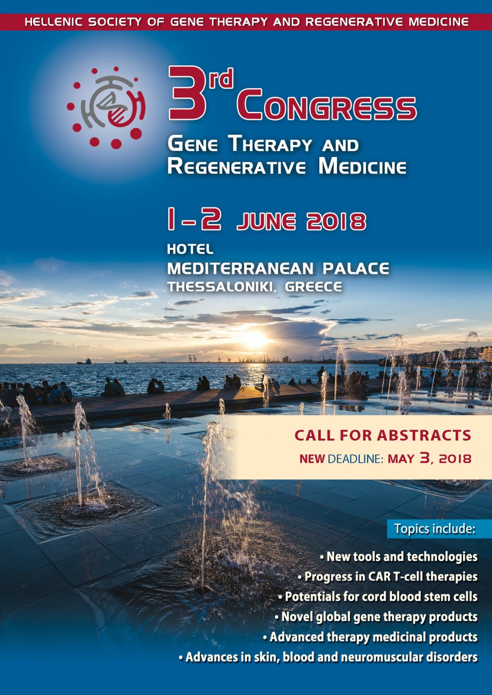3rd Congress Gene Therapy and Regenerative Medicine - Call for Abstracts